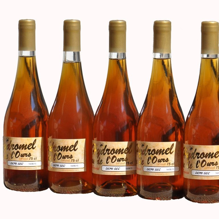 Mead Is A Fermented Drink Made With Water And Honey