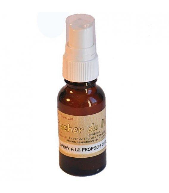 Spray à la propolis