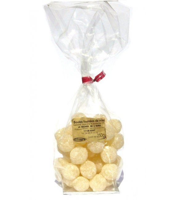 hard sweets filled with honey