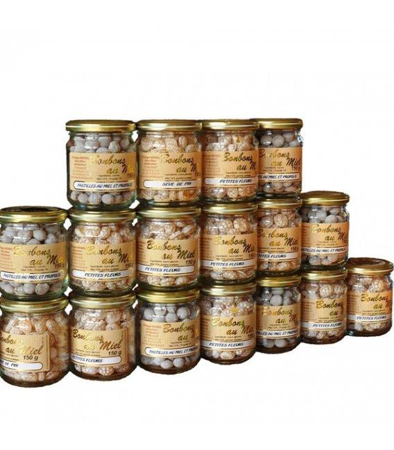 Honey flavoured lozenges