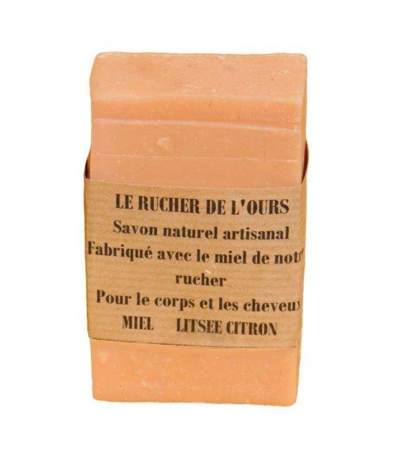 Honey Soap with Litsée and honey