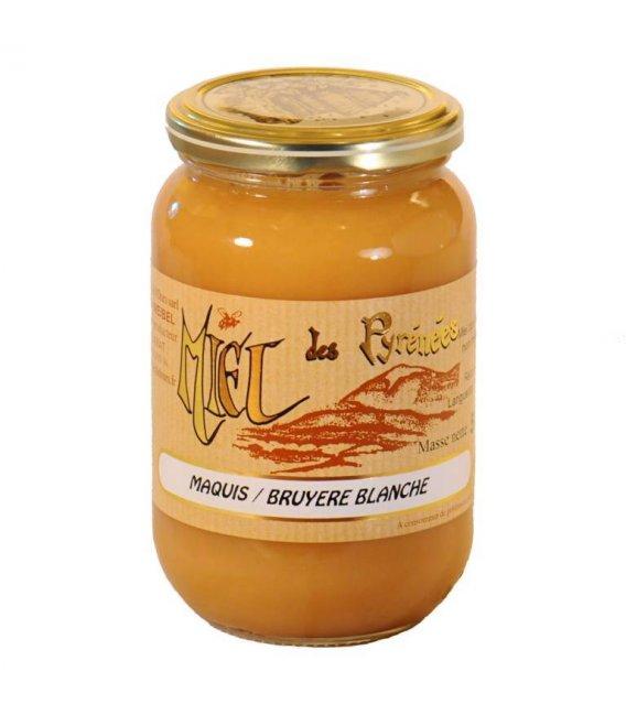 Miel de Bruyère Blanche 500g crémeux
