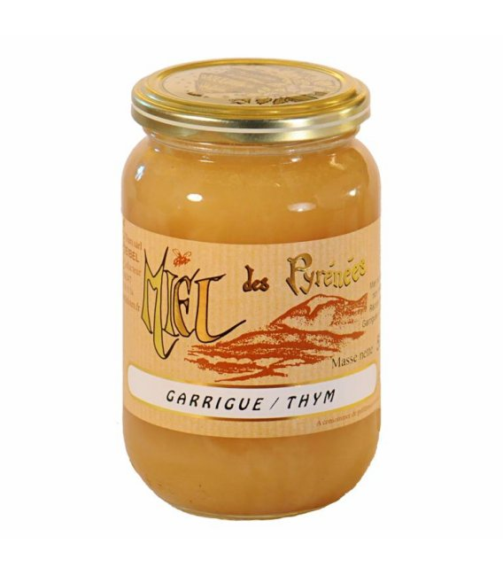 Miel de Garrigue -Thym 500g crémeux