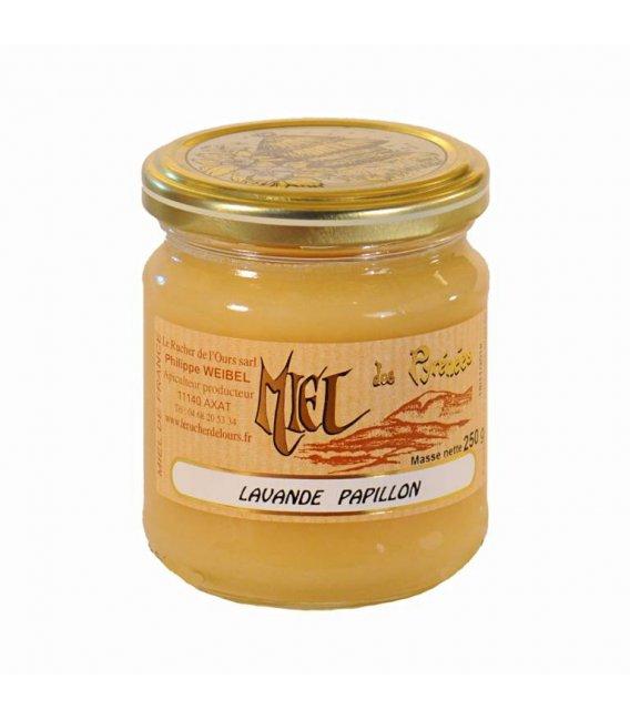 Cremiger Schopflavendel-Honig 250g
