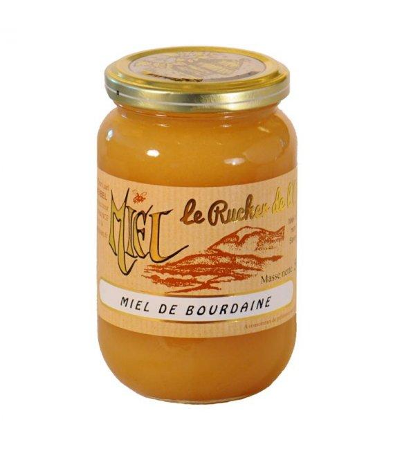 Miel de Bourdaine 500g crémeux