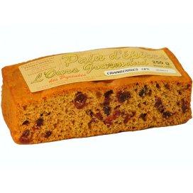 Cranberry-Honigkuchen