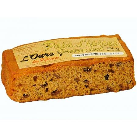 Rhum Raisins Spice Bread
