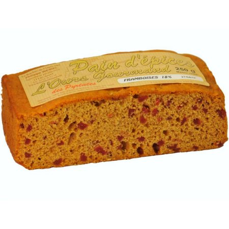 Himbeeren-Honigkuchen