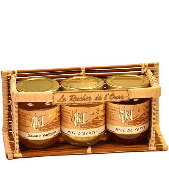 Presentoir fougère 3 pots 125g