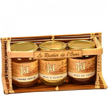 Fern Carrying Case with 3 jars