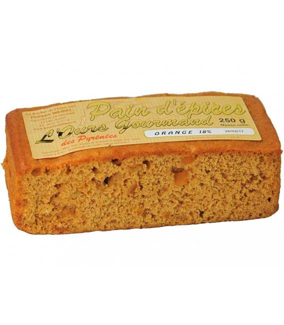 Pan de especias con naranja