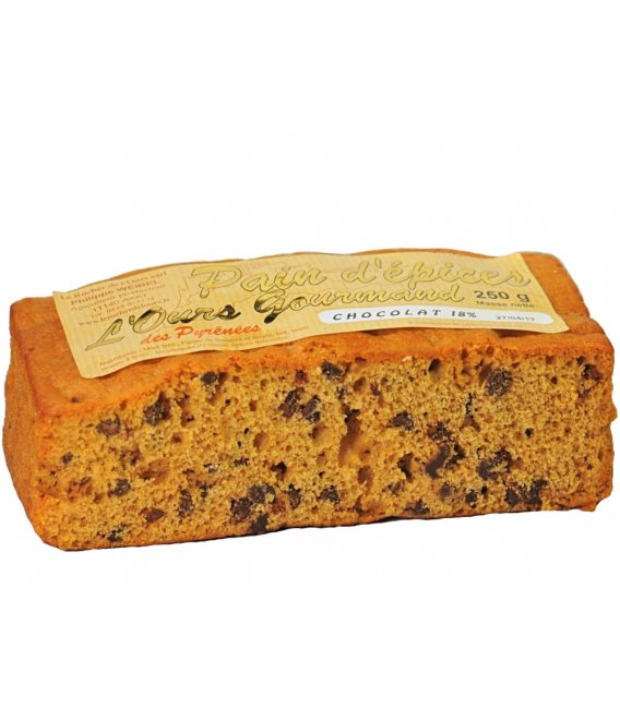 Spice Bread with Chocolate Chips