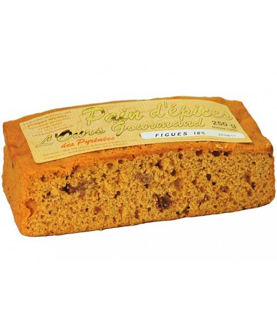 Pan de especias con higos