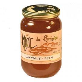 Miel de Garrigue -Thym 500g liquide