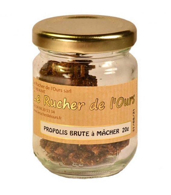 Propolis pure à macher 20g