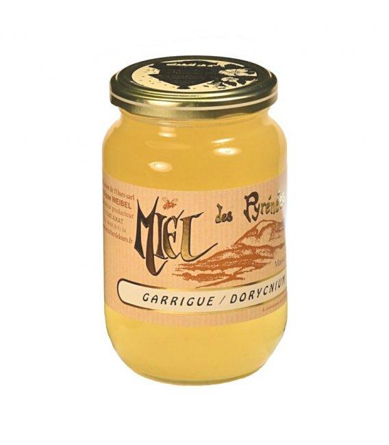 Miel de Garrigue-Dorycnium 500g liquide