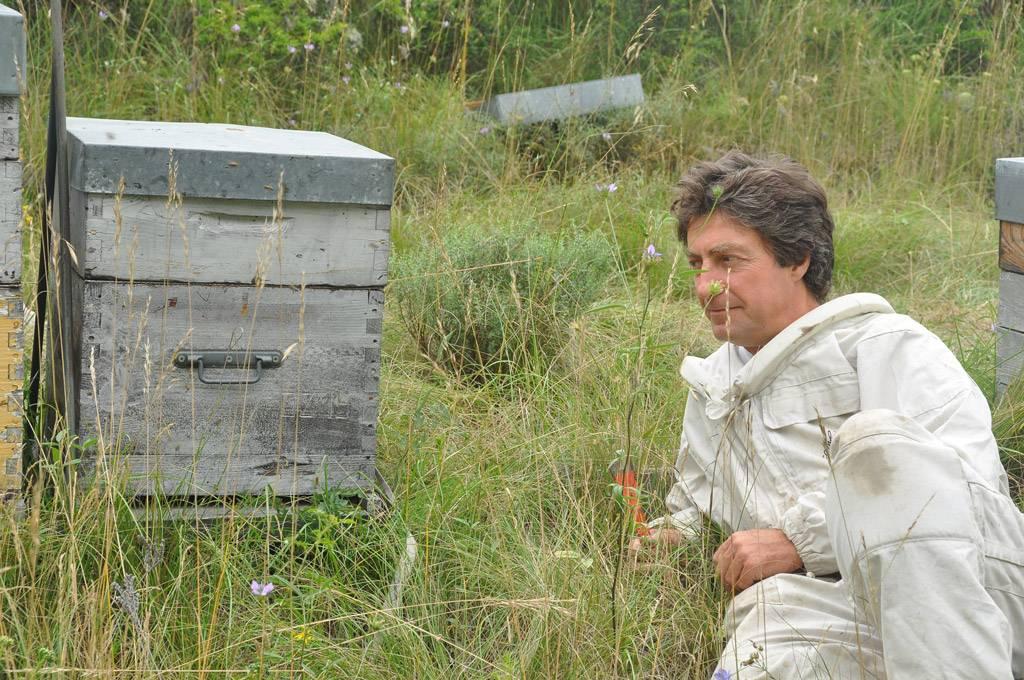 l'apiculteur, on dit toujours que les patrons travaillent dur...